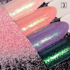 1.5g Chameleon  Nail Art Powder Glitter Pink Chrome Pigment Decor Dust