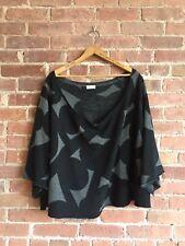 Dries Van Noten Women's Poncho Sweater, Sz Medium