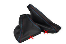 FITS BMW E36 E46 M3 M POWER STITCH LEATHER GAITERS BOOTS NEW