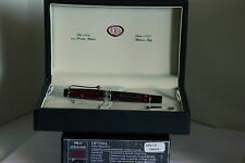 FOUNTAIN PEN AURORA OPTIMA 996CX NIB SIZE M BURGUNDY