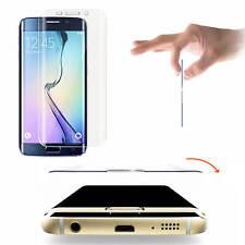 2x FOLIE 3D CURVED Samsung Galaxy S6 EDGE PLUS Schutzfolie inkl Kanten Folie NEU