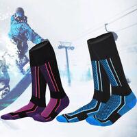 Men Women Long Warm Snow Ski Hiking Outdoor Winter Sport Socks Snowboard Safe