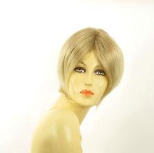 short wig women smooth light blonde wick very light blond ref BLANDINE 15t613