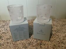 PartyLite Dotty Votive Candle Holders Set Of 2