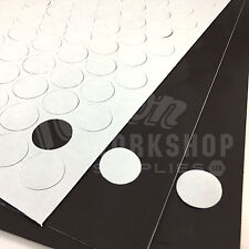119 x Ø 20mm MAGNETIC SELF ADHESIVE FLEXIBLE DOTS DISC CIRCLES 119 PER A4 SHEET