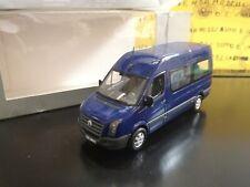 1/43 MInichamps VW Crafter Van blu blue blau bleu PROMO BOX camion truck RARE