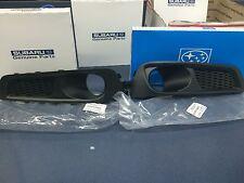 2010-2012 Subaru Legacy Right & Left Hand Side Fog Light Bezels SET OEM NEW Pair