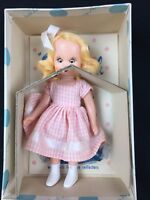 Vintage 1950s Nancy Ann Storybook Doll Big Sister Goes To Play # 62 Hard Plastic