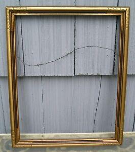 Amazing Art Crafts Bat Wing Corner Bronze Gold Finish Picture Frame 12 x 15
