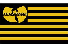 Wu Tang Clan Black & Yellow 3x5 ft Flag Banner