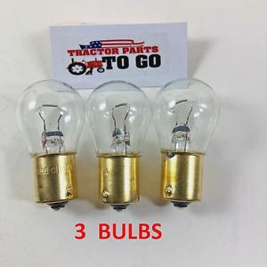 FORD NEW HOLLAND HEAD LIGHT BULBS  3 BULBS, 12 VOLT