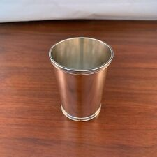 STIEFF STERLING SILVER MINT JULEP / TUMBLER CUP - NO MONO (DATED 12-25-63)