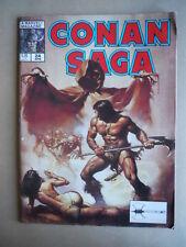 CONAN SAGA - Marvel Magazine n°24 1989  [G364] BUONO