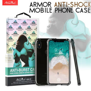 Anti Burst Clear Gel Tough Armour King Kong Protection Case For iPhone 5,6,X,12