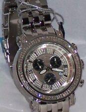 New Authentic Mens Joe Rodeo tyler chronograph Jty5 2.00ct.aprx.Diamond Watch