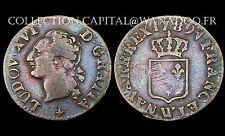 Liard à l'écu 1789 W (Lille). Louis XVI°. Bronze. Réf: 348 Gadoury