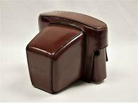Leitz Leica R4 Leder-Tasche Bag Case Bereitschaftstasche vintage brown leather