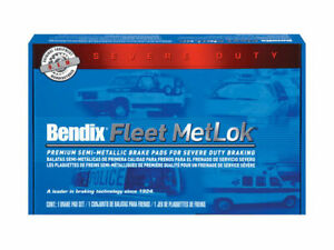 For 1992-2002 Blue Bird Commercial Bus Brake Pad Set Bendix 84194MR 1993 1994