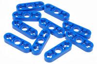 LEGO Technik - 10 x Liftarm dünn 1x3 blau / Blue Liftarm Thin / 6632 NEUWARE