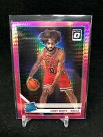 COBY WHITE 2019-20 DONRUSS OPTIC PINK HYPER PRIZM ROOKIE RC #180 BULLS  A07