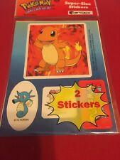 Pokeman Super - Size Stickers 1995 Artbox Nintendo New