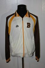 1932-1934 Majestic Boston Bruins Throwback Full Zip Track Jacket M