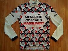 Assos Mendrisio COLNAGO Vintage Long Sleeve Cycling Jersey/Jacket M VERY RARE!