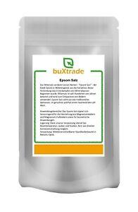 250 g   Epsom Salz   Magnesiumsulfat   Bittersalz   Epsom   Buxtrade