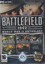 Battlefield 1942 World War II Anthology PC Brand New Sealed