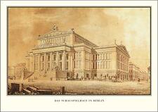 Berlin Schauspielhaus Poster Kunstdruck Bild Plakat 50x69cm