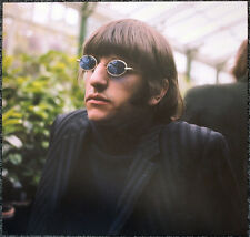 THE BEATLES POSTER PAGE .1966 RINGO FILMING PAPERBACK WRITER PROMO . J43