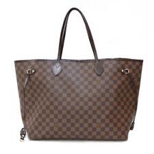 LOUIS VUITTON Shoulder Bag N51106 Brown Wakeari Damier Neverfull GM from japan
