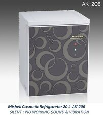 NEW Mishell Cosmetic Refrigerator 20 L AK 206 Silent Design & Smart Temp Control