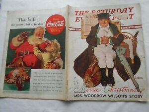 THE SATURDAY EVENING POST-DECEMBER 17,1938-by NORMAN ROCKWELL