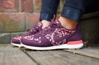 Nike Internationalist X Liberty *UK3 & 6.5* floral flowery maroon max 90 1 OG