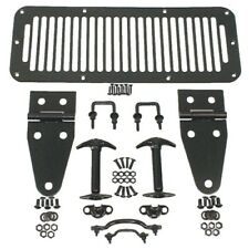 RUGGED RIDGE 11201.01 Hood Kit Black For 78-95 Jeep Wrangler CJ/YJ