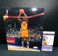 CHARLES JENKINS GOLDEN STATE WARRIORS BASKETBALL SIGNED 8X10 PHOTO W/JSA COA