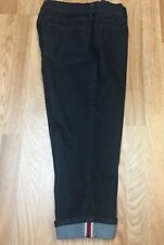 Not Your Daughters Jeans NYDJ Women's 8 Crop Capri Dark Wash Lift Tuck Stretch