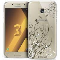 Coque Crystal Pour Samsung Galaxy A3 2017 (A320) Extra Fine Rigide Love Hearts F