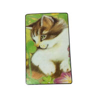 Vintage 80's Cat Kitty Playing Cards Deck Complete With Jokers
