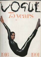 VOGUE 75 YEARS  1916 - 1991 ,VOGUE MAGAZINE 1991