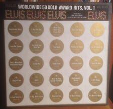 ELVIS PRESLEY worldwide 50 gold award hits vol.1 RCA VICTOR 4 LP BOX SET w/BOOK
