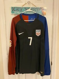 2016 Copa America USA SOCCER Match worn Bobby Wood Player issue Jersey Authentic