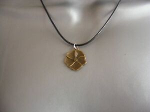 vintage brass effect pendant necklace flower/tool/key christmas gift/stocking