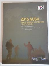 US Army AUSA 2015 Annual Meeting & Exposition - Korea Pavilion Booklet 96 Pages