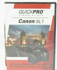 Canon SL1 Camera Guide DVD by QuickPro (83 min Tutorial DVD) Sealed #MAP-1802