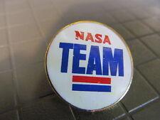 NASA TEAM   LAPEL PIN