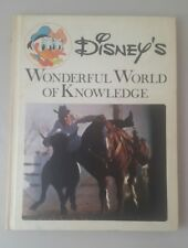 Disney's Wonderful World of Knowledge #16 The Far West 1973 HB Book