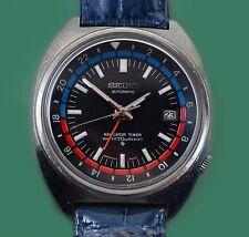 Vintage 1960's Seiko Daini Seikosha Navigator Timer GMT Watch 6117-6419