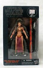 "Hasbro Star Wars Black Series 6"" Princess Leia Slave Outfit #05 Figure"